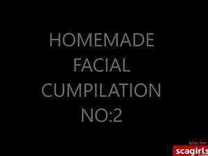 HOMEMADE FACIAL CUMPILATION ed: db NO:2