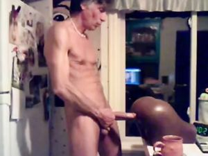 Str8 daddy banging the pocket pussy in the...