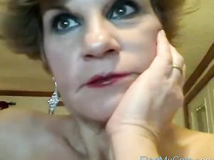 52 year old lady on the naughty on webcam ...