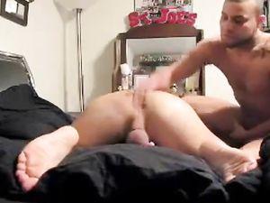 AMATEUR hot HOMEMADE bare RAW anal fun...