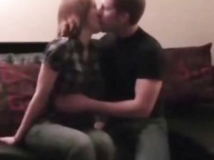 Young couple suck, fuck front off camera