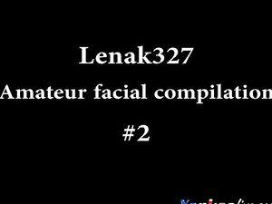 Lenak327 Amateur facial compilation #2