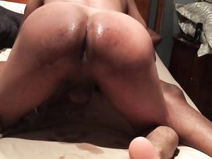 Bottom boy fucked bareback and creampied...