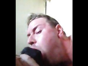 White Guy Sucking BBC -v3