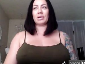 Curvy Bitch Shows Her Jumpsuits