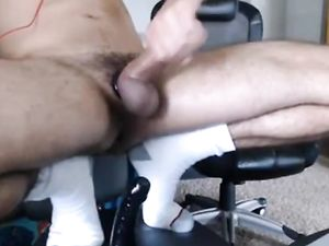 Long fat thick cut cock shaved balls...