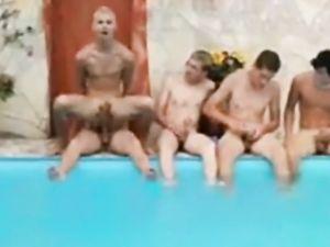 HOT boy bare in a group -v2