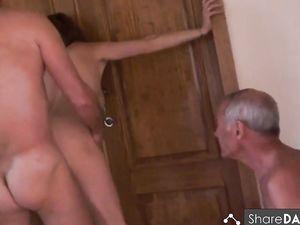 Amateur mature cuckold threesome -v2