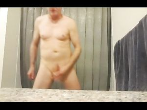 Kevin Yardley masturbates and strokes off...