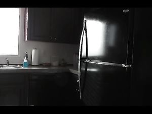 Kevin Yardley fucks his refrigerator and cums