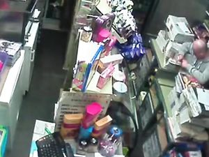 Str8 caught fucking on security camera in...