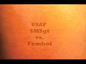 USAF MSGt vs Faggyboi