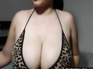 Lucky Guy Gets Her Cock Sucked By Busty...
