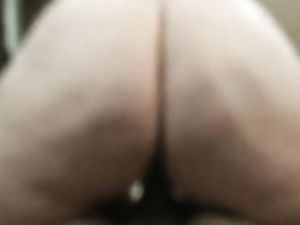 Big phat ass swallowing that dick