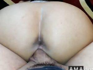 Arab couple's hot sex