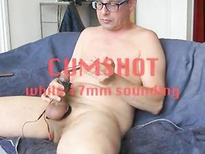 17mm sounding, balls and cum (short edit) -v2