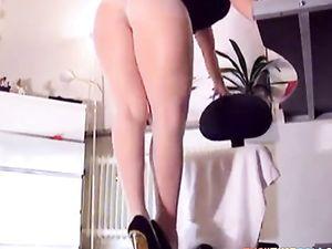 pantyhose white&tan