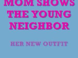 MOM SUCKS BIG YOUNG COCK