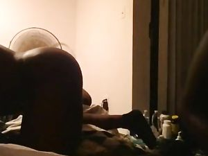 Wet Black Bareback Fuck with Dripping...