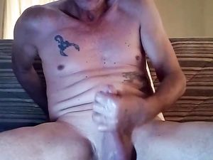 WANK JOB AND SEX TOY FUCK!!