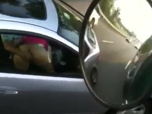 Woman sucking cock in traffic, it was I...