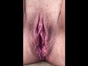 Big boobs mature woman demonstrating big cunt