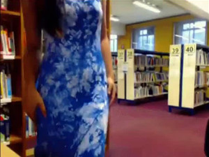 Was caught naked in the college library