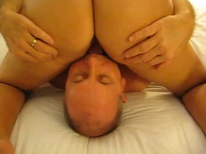 Guy fuck wife's pussy while her cuck-hubby...