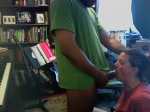 Spy cam video where wife suck black