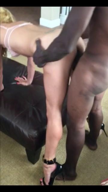 Slut wife in heels