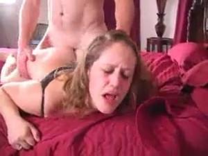 Slutwife roughly fucking husband's boss