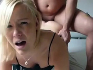 Amateur video where beautiful european...
