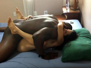 cum inside wife orgasmic interracial...