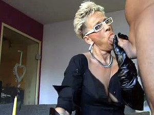 Hot mature cougar gets fucked hard and...