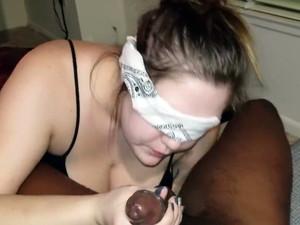 Blindfolded russian wife Tonya...