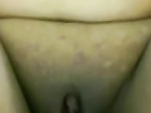 Amateur wife peeing in close up