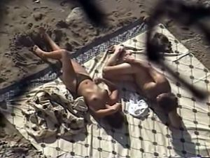 Explicit sex on remote beaches video...