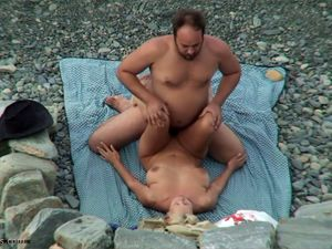 Beach Hunter newest video couple having sex