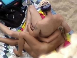 Beach wife swapping and threesomes video...