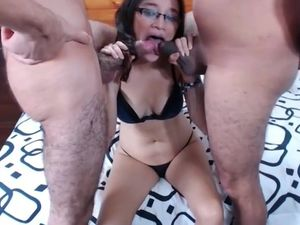 Thai swingers webcam double blowjob