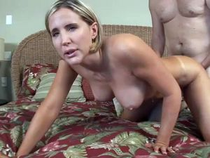 Lucky stranger fuck very horny busty mom...